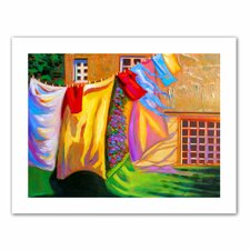 <strong>Art Wall</strong> Susi Franco 'French Laundry' Unwrapped Canvas Wall Art