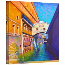 Susi Franco 'Venezia Ponte di Sospiri' Gallery-Wrapped Canvas Wall Art