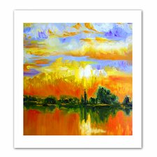 'The Zen of Italy' by Susi Franco Painting Print on Canvas