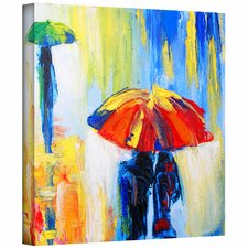 Susi Franco 'Downpour' Gallery-Wrapped Canvas Wall Art