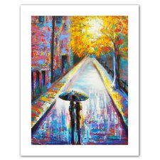 Susi Franco 'Paris Back Street Magic' Unwrapped Canvas Wall Art