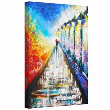 Susi Franco 'Paris Sweethearts' Gallery-Wrapped Canvas Wall Art