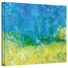 Herb Dickinson 'Tropical Waters' Gallery-Wrapped Canvas Wall Art