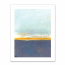 Jan Weiss 'Big Sky Country I' Unwrapped Canvas Wall Art