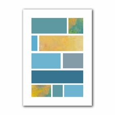 <strong>Art Wall</strong> Jan Weiss 'Paint Swatches II' Unwrapped Canvas Wall Art