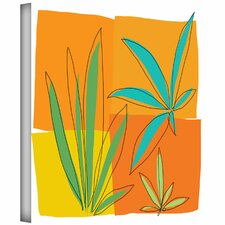 Jan Weiss 'Grasses II' Gallery-Wrapped Canvas Wall Art