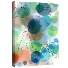 <strong>Art Wall</strong> Jan Weiss 'Liquid Floral II' Gallery-Wrapped Canvas Wall Art