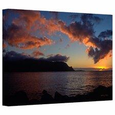'Last Light Over Bali Hai' by Kathy Yates Photographic Print on Canvas