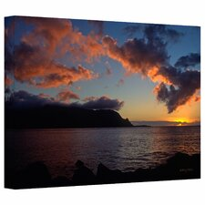 Kathy Yates 'Last Light Over Bali Hai' Gallery-Wrapped Canvas Wall Art