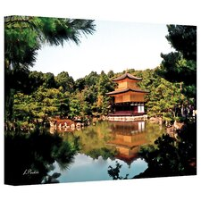 <strong>Art Wall</strong> Linda Parker 'Kinkakuji' Gallery-Wrapped Canvas Wall Art