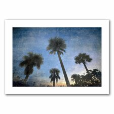 <strong>Art Wall</strong> David Liam Kyle 'Palms at Sunset' Unwrapped Canvas Wall Art