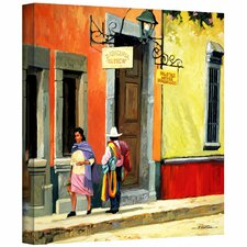 'Streets of Mexico' by Rick Kersten Photographic Print on Canvas