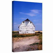 <strong>Art Wall</strong> Kathy Yates 'Old White Barn' Gallery-Wrapped Canvas Wall Art