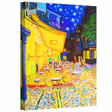 Susi Franco 'Café Terrace by Vincent Van Gogh' Gallery-Wrapped Canvas Wall Art