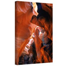 Linda Parker 'Slot Canyon VI' Gallery-Wrapped Canvas Wall Art