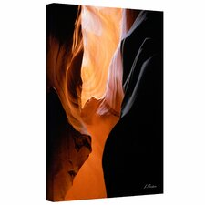 Linda Parker 'Slot Canyon VII' Gallery-Wrapped Canvas Wall Art