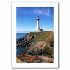 Kathy Yates 'Pigeon Point Lighthouse 2' Unwrapped Canvas Wall Art