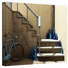 Cynthia Decker 'Bottle Collector' Gallery-Wrapped Canvas Wall Art