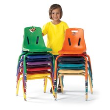 Berries® Armless Classroom Stacking Chair (Set of 6)