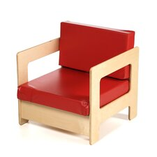 Red Easy Kid's Chair