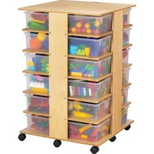 Tower 24 Compartment Cubby