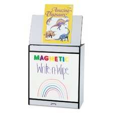Rainbow Accents® Magnetic Write-n-Wipe Big Book Easel