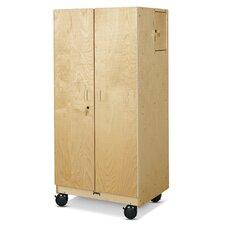 Hideaway Mobile Storage Cabinet