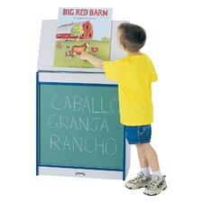 Rainbow Accents® Big Book Easel Chalkboard