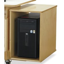 """Endeavour 18.5"""" H x 18.5"""" W Desk CPU Booth"""