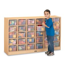 30 Compartment Mobile Storage Cubby