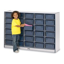 Tub Single Storage Unit 30 Compartment Cubby
