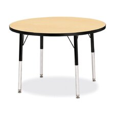 "<strong>Jonti-Craft</strong> KYDZ Toddler Height Activity Table- Round (42"" Diameter)"