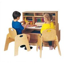 "Mini 36"" W Script-n-Skills Station Children's Desk"