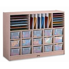 Sectional Mobile 34 Compartment Cubby