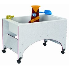 Gray Laminate Space Saver Sensory Table