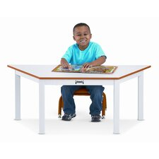"47"" x 20.5"" Trapezoidal Classroom Table"
