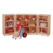 <strong>Jonti-Craft</strong> Mobile  Fold-n-Lock Storage Unit