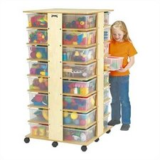 Tower 32 Compartment Cubby