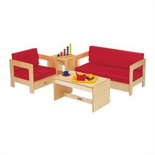 <strong>Jonti-Craft</strong> Kids 4 Piece Table and Chair Set