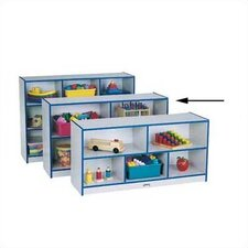 Rainbow Accents Low Single Compartment Storage