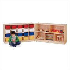 Fold-n-Lock 8 Compartment Cubby