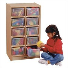 <strong>Jonti-Craft</strong> 10 Tray Mobile Storage