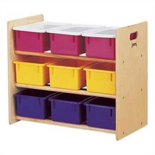 Tote Storage Rack - 9 Tray