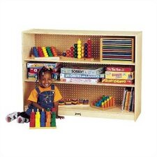 "36"" H Mobile Adjustable Bookcase"