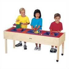 <strong>Jonti-Craft</strong> 3 Tub Sand-n-Water Table - Toddler