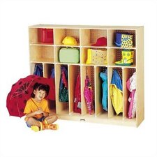 "<strong>Jonti-Craft</strong> Neat-n-Trim Lockers - 60"" - 8 Sections"