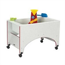 <strong>Jonti-Craft</strong> Rainbow Accents Space Saver Sand-n-Water Table