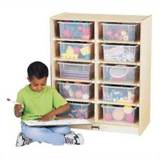 Tub Single 10 Compartment Cubby