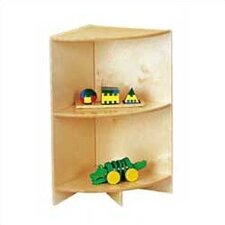 "<strong>Jonti-Craft</strong> KYDZ Curves 29"" H Corner Bookcase"