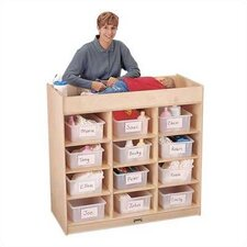 <strong>Jonti-Craft</strong> 12 Tub Changing Table w/ Pad